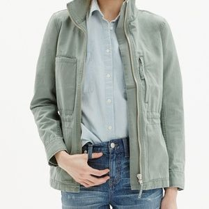 Madewell Fleet Jacket in Meadow Green